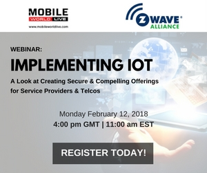 Implementing IoT: A Look at Creating Secure and Compelling Offerings for Service Providers & Telcos