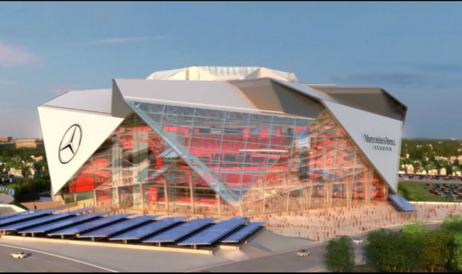 Interview amb sports entertainment cto for Hotels mercedes benz stadium