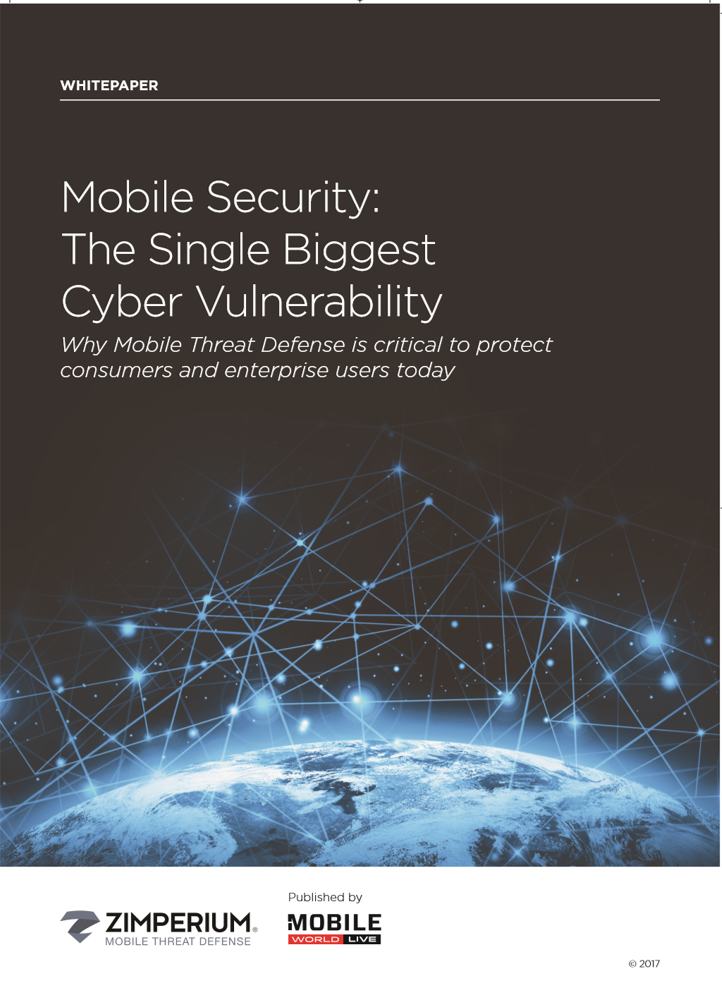Mobile Security: The Single Biggest Cyber Vulnerability