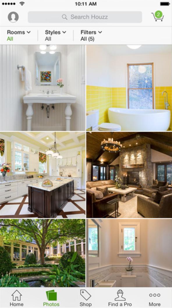 Houzz raises 400m mobile world live Home renovation design app