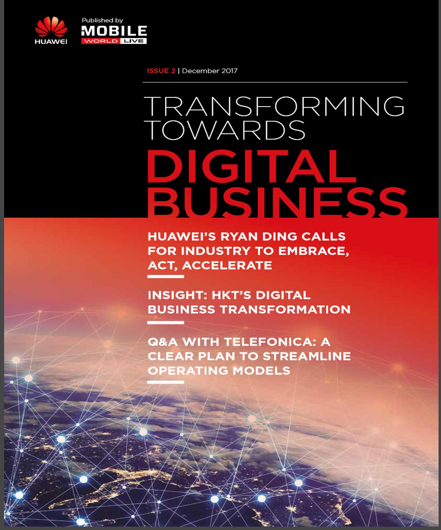 Transforming Towards Digital Business