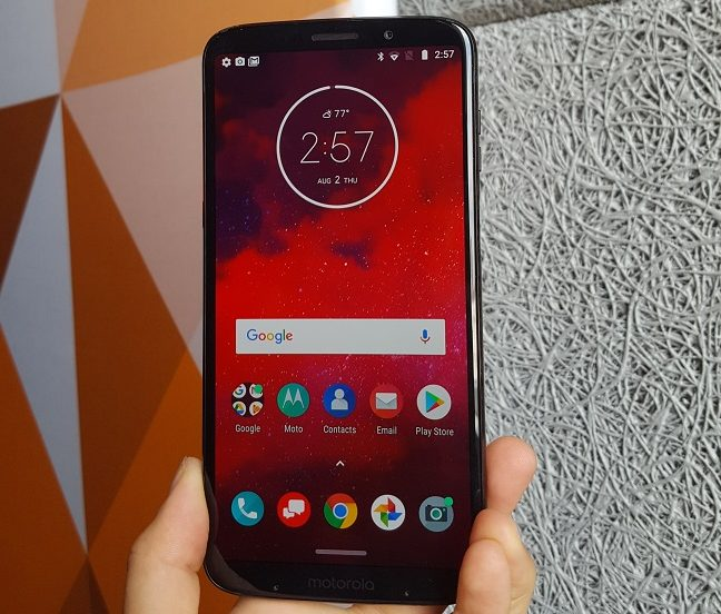 Mod brings 5G to life on Moto Z3