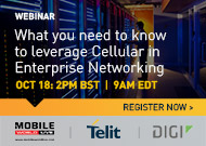 What you need to know to leverage Cellular in Enterprise Networking