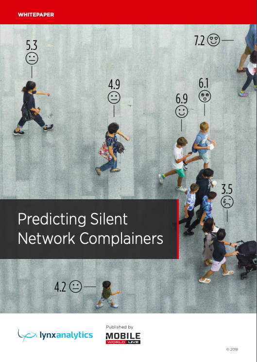 Predicting Silent Network Complainers: Experiences from Hong Kong Telecom