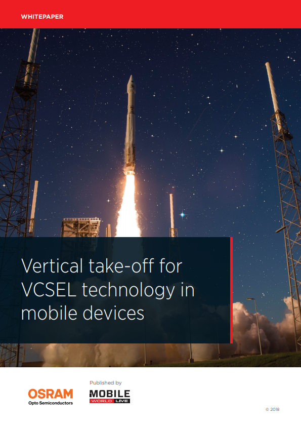 Vertical take-off for VCSEL technology in mobile devices