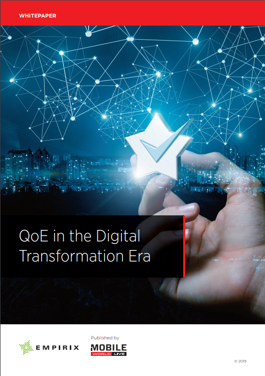 QoE in the Digital Transformation Era