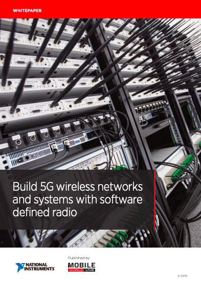 Build 5G Wirelesss Networks and Systems with Software Defined Radio