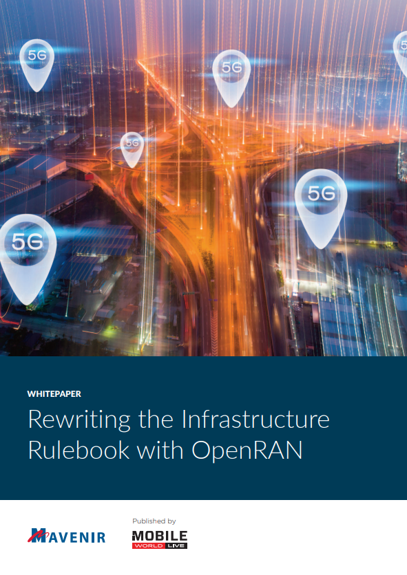 Rewriting the Infrastructure Rulebook with OpenRAN