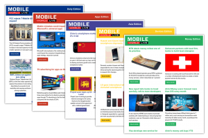 Mobile World Live Sample Newsletters