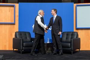 facebook zuckerberg modi